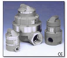 Ringkolbenzähler für niedrige und hohe Viskositätten, Meßbereiche 10..500 l/h bis 7700-20.000 l/h