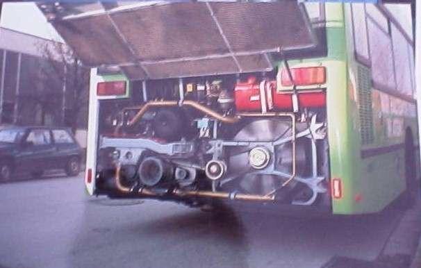 Massedurchflußmesser in Omnibus
