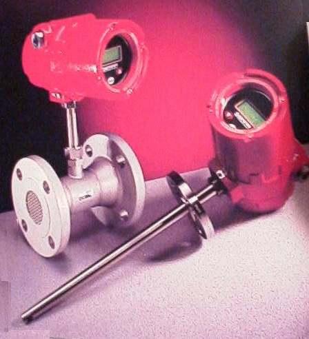 Massedurchflußmesser für Gase (EEx i)